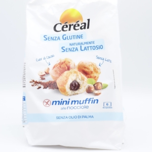 mini muffin- crema - nocciola- cereal